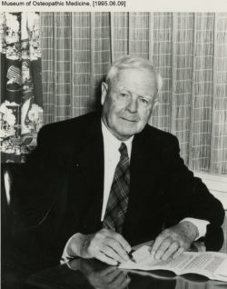 Dr. William Suterland, Mitbegründer der Osteopathie