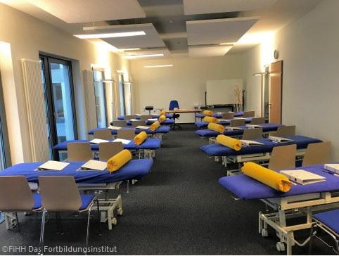 Unterrichtsraum im Ausbildungszentrum Hamburg